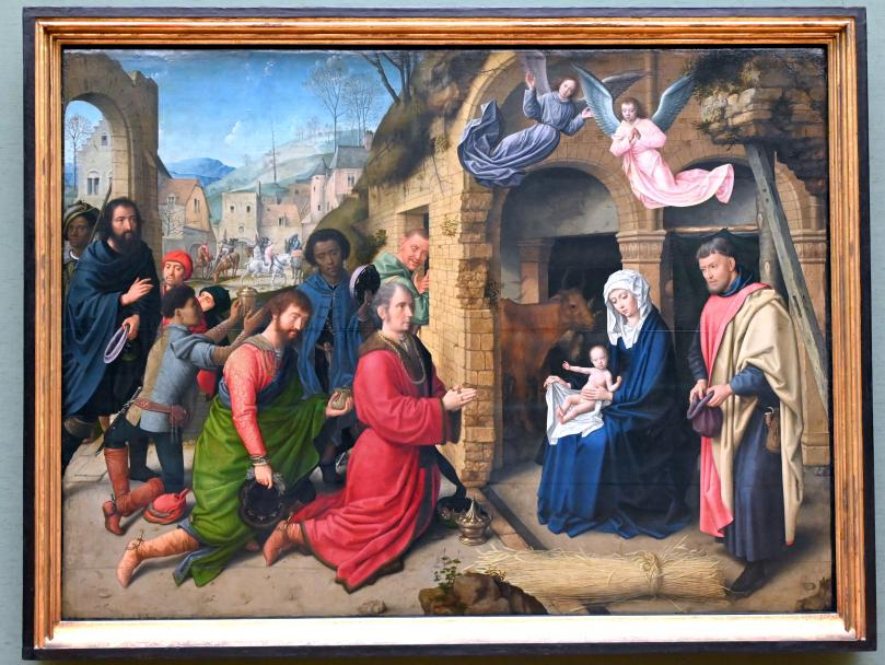 Gerard David: Anbetung der Könige, Um 1495 - 1505