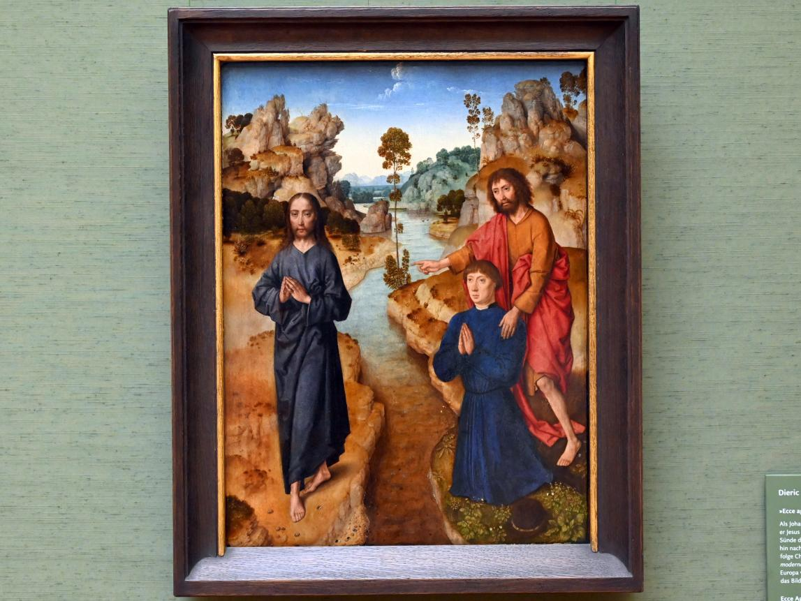 Dieric Bouts d.Ä.: Ecce agnus dei (Seht das Lamm Gottes), Um 1462 - 1464