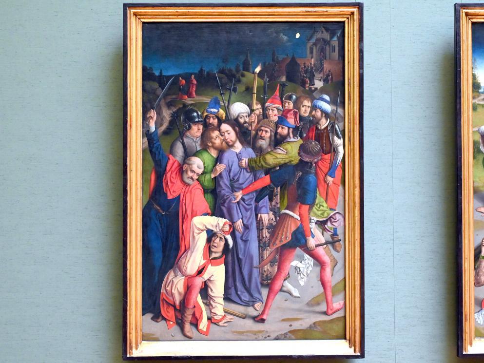 Dieric Bouts d.Ä. (Nachfolger): Gefangennahme Christi, um 1485