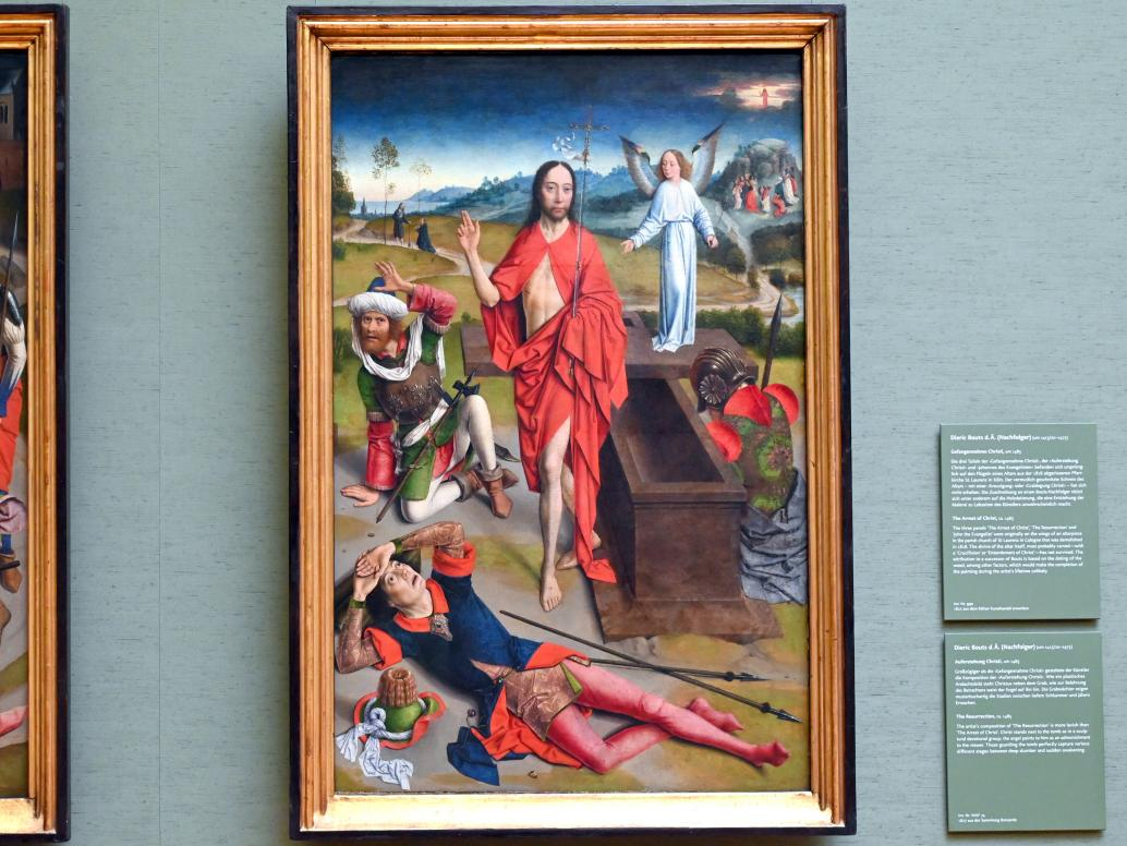 Dieric Bouts d.Ä. (Nachfolger): Auferstehung Christi, Um 1485