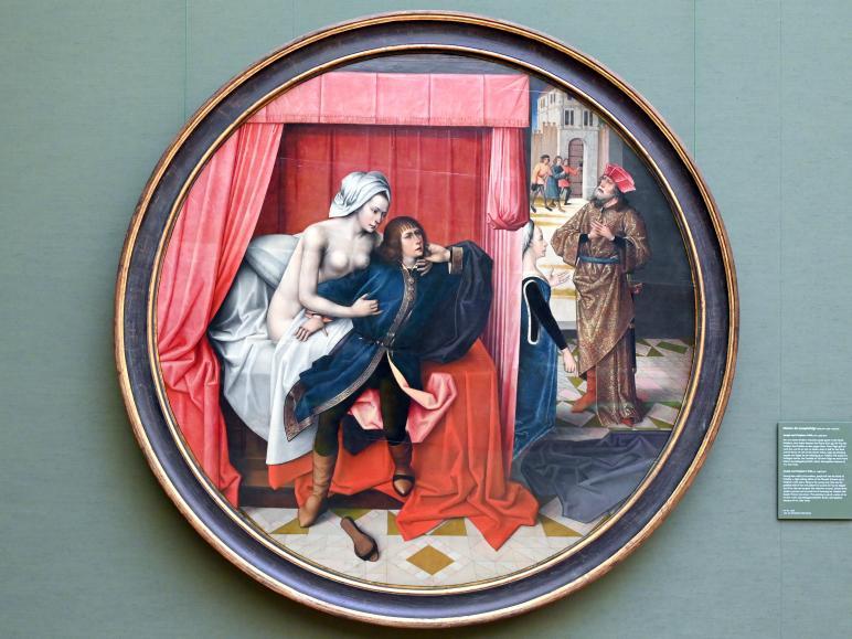 Meister der Josephsfolge: Joseph und Potiphars Weib, Um 1490 - 1500