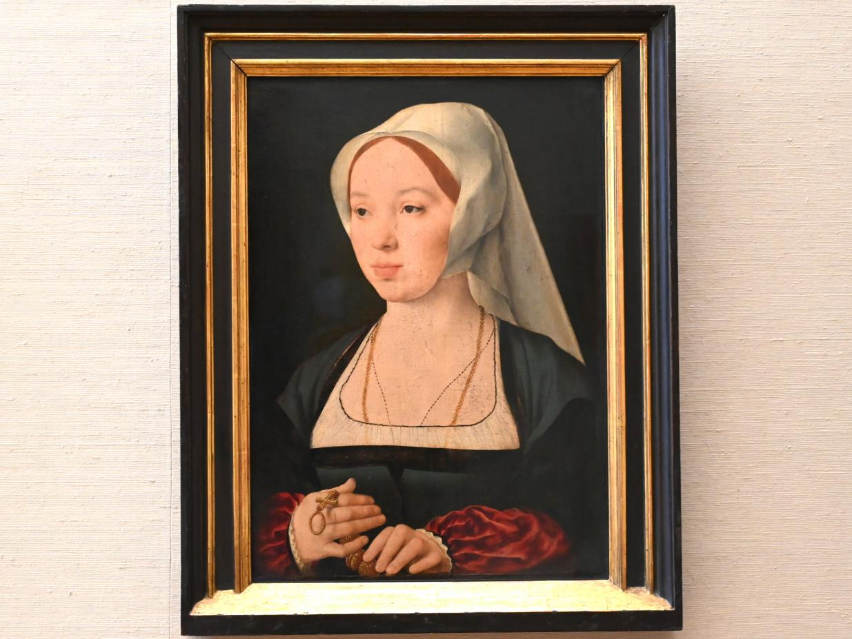 Joos van Cleve (Joos van der Beke): Bildnis einer Frau, Um 1520 - 1525