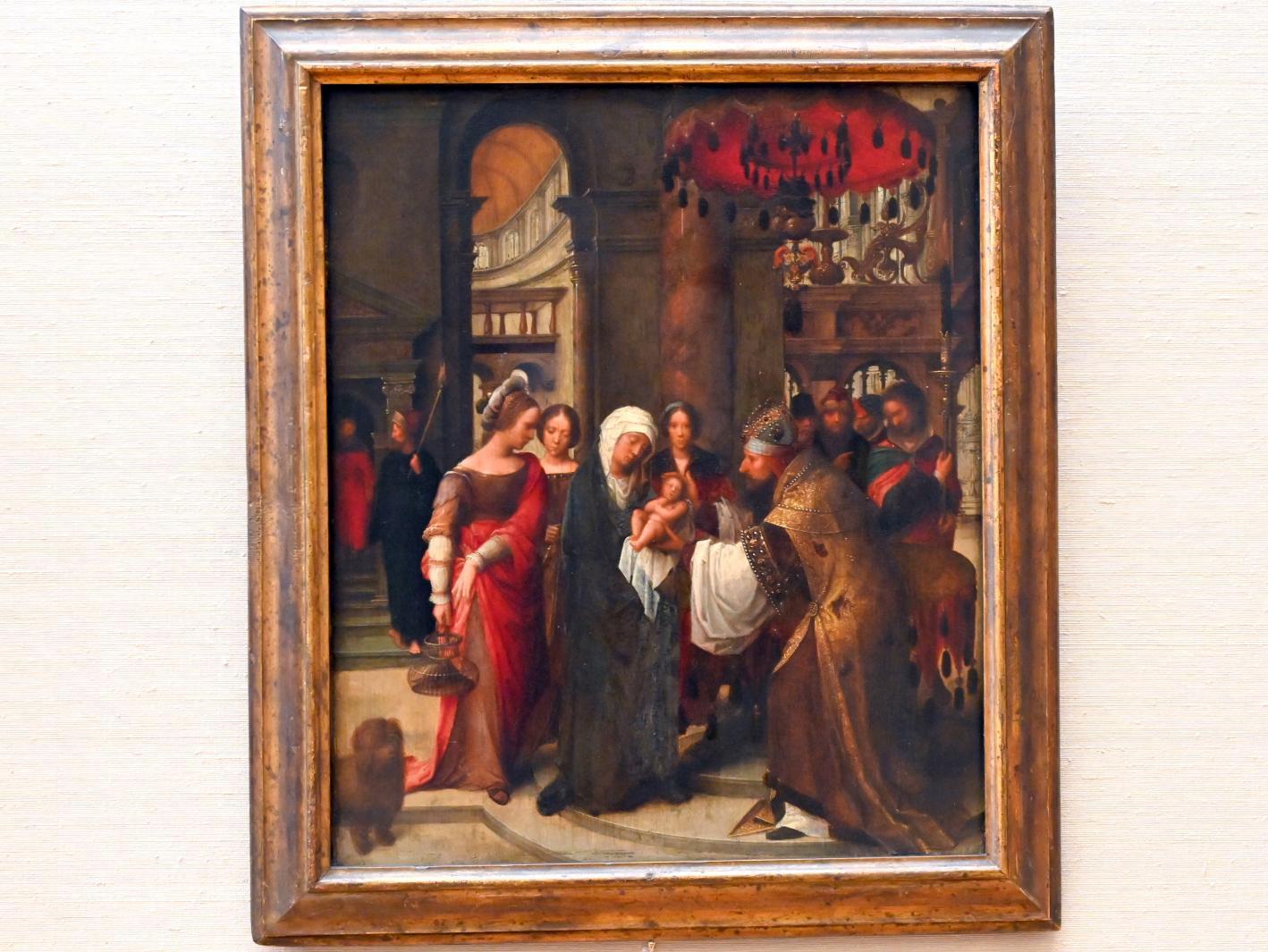 Adriaen Isenbrant: Darbringung Christi im Tempel, Um 1535 - 1540