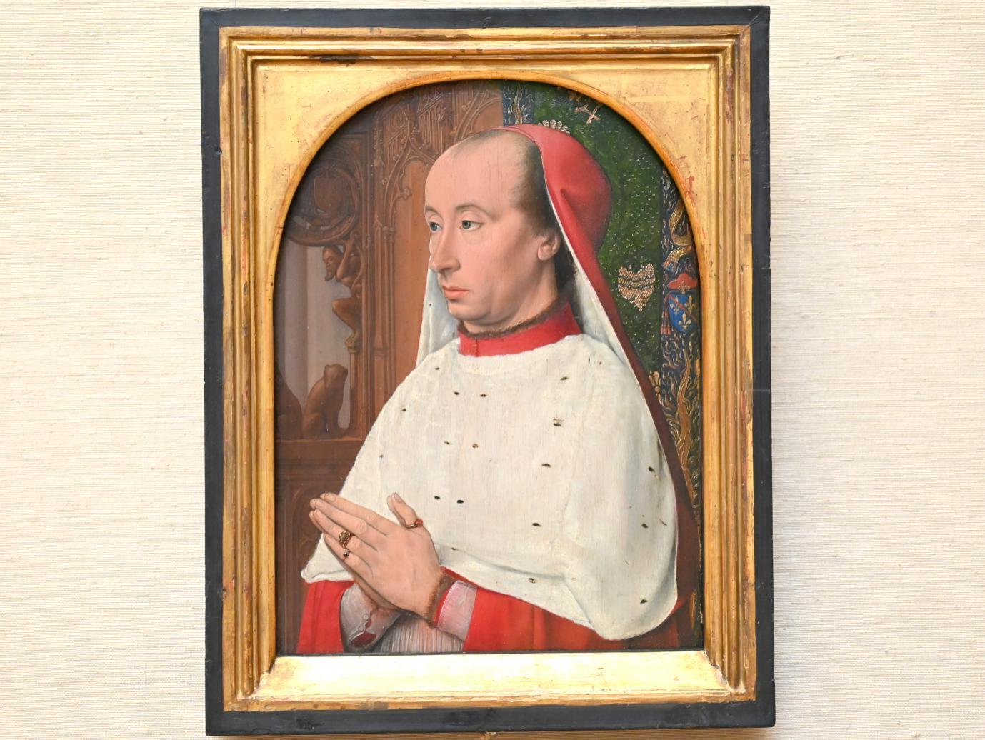Jean Hey (Meister von Moulins): Kardinal Karl II. von Bourbon, Um 1482 - 1483