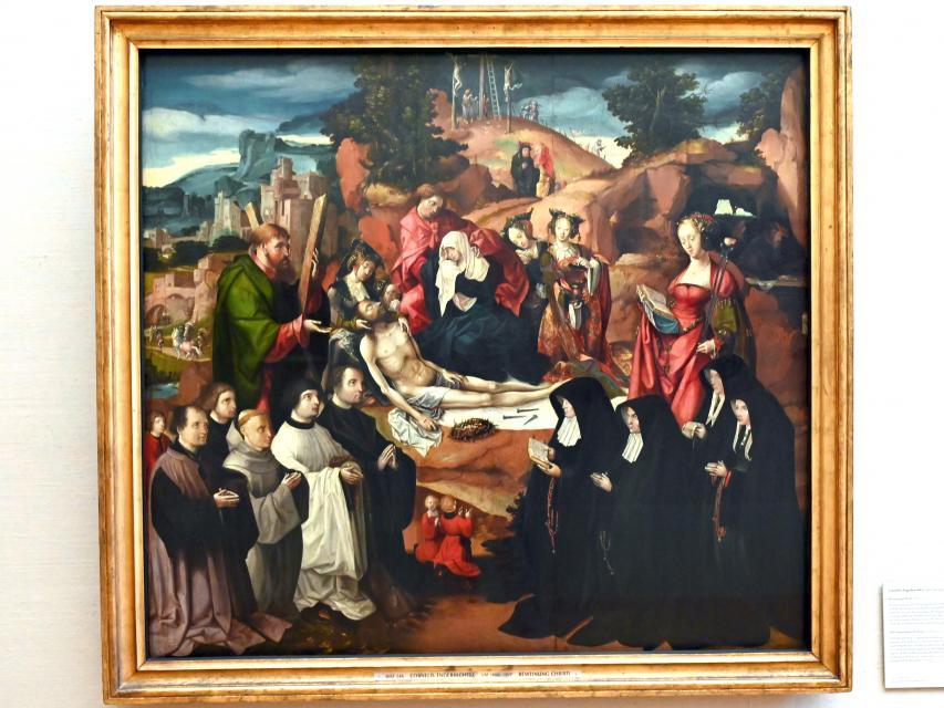 Cornelis Engebrechtsz: Beweinung Christi, 1. Viertel 16. Jhd.