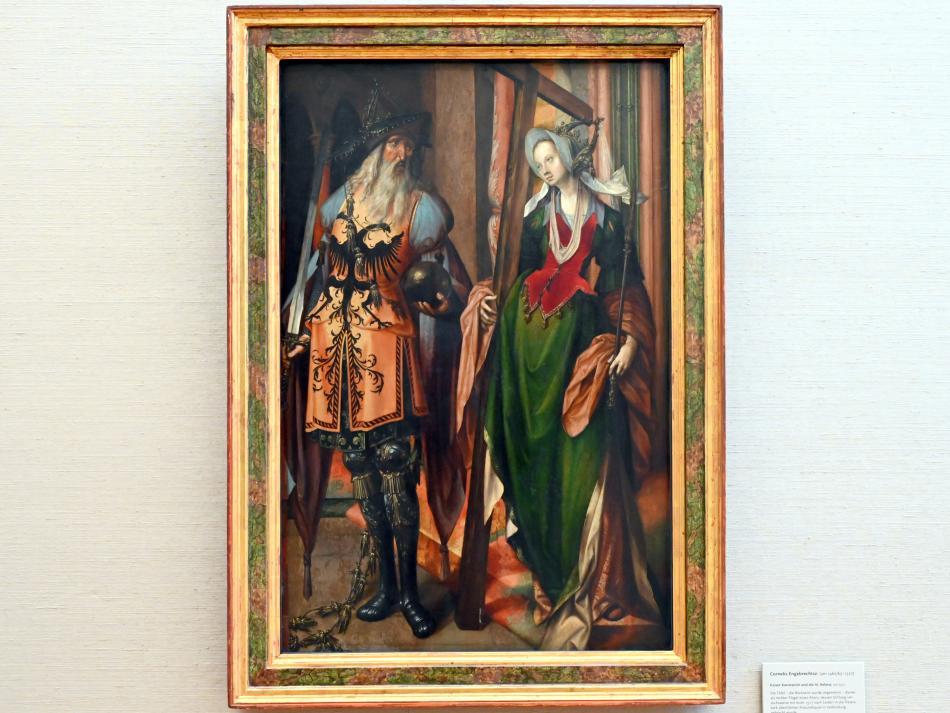 Cornelis Engebrechtsz: Kaiser Konstantin und die hl. Helena, Um 1517