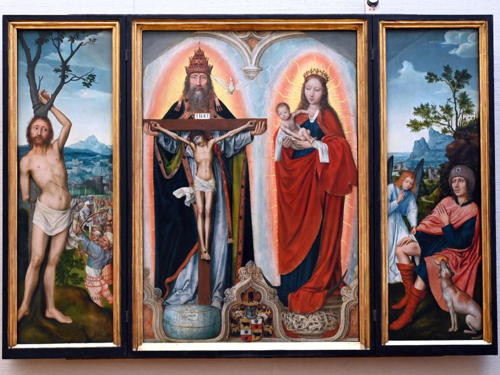 Quinten Massys: Flügelaltar des Lukas Rem, nach 1518