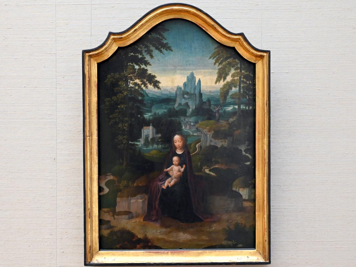 Adriaen Isenbrant: Ruhe auf der Flucht, Um 1520 - 1525