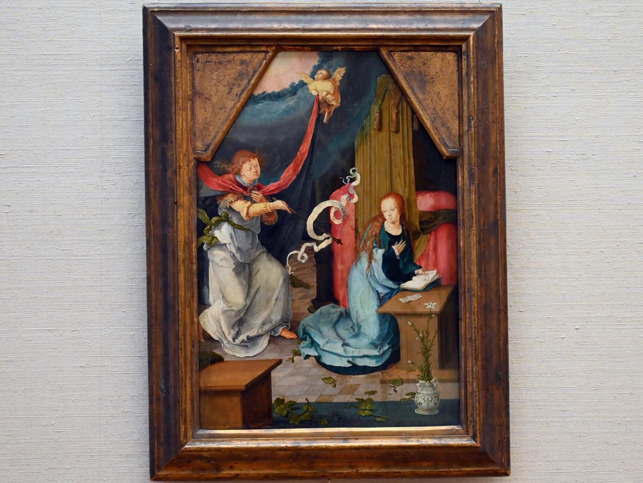 Lucas van Leyden: Verkündigung an Maria, 1522