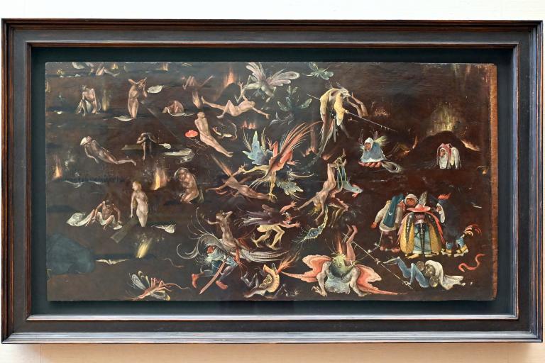 Hieronymus Bosch (Nachfolger): Fragment einer Darstellung des Jüngsten Gerichts, Um 1515 - 1520