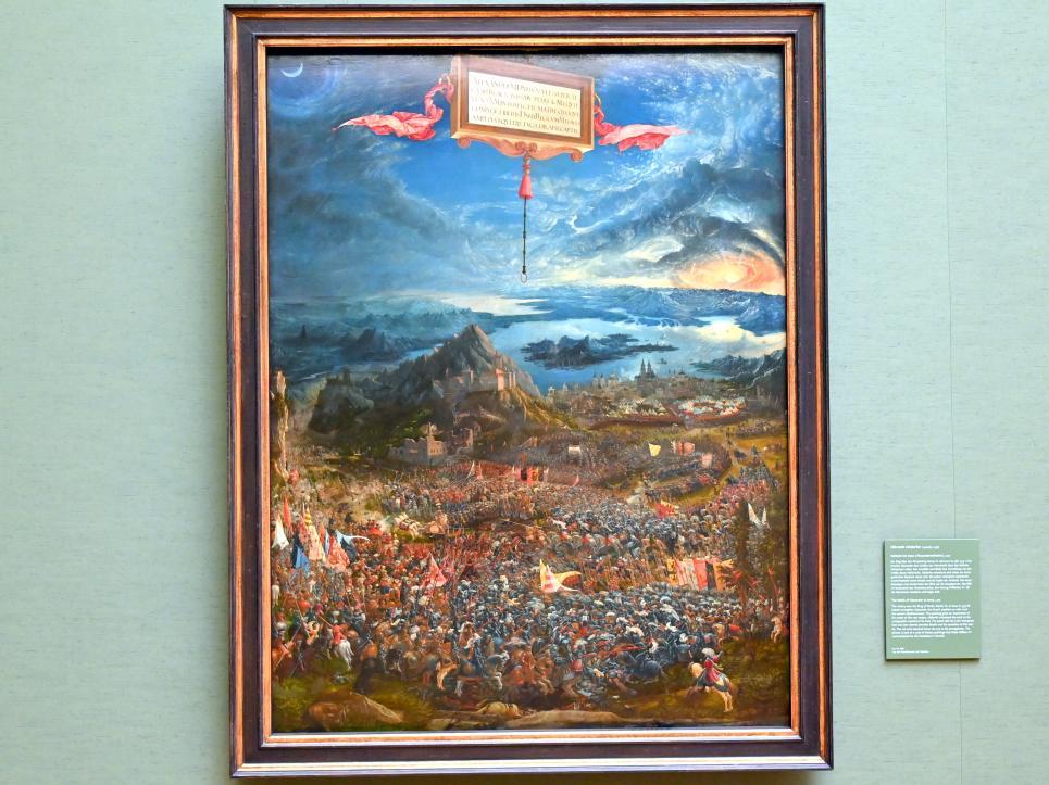 Albrecht Altdorfer: Schlacht bei Issus, 1529