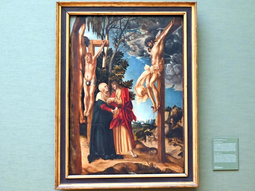 Lucas Cranach der Ältere: Kreuzigung Christi, 1503
