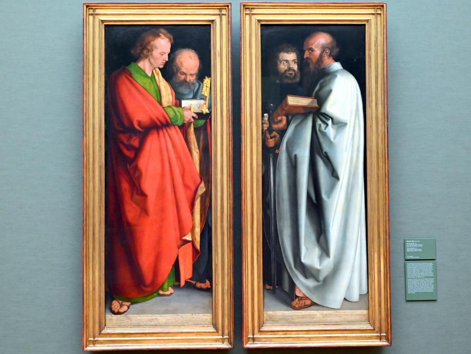 """Albrecht Dürer: Die """"Vier Apostel"""", 1526"""