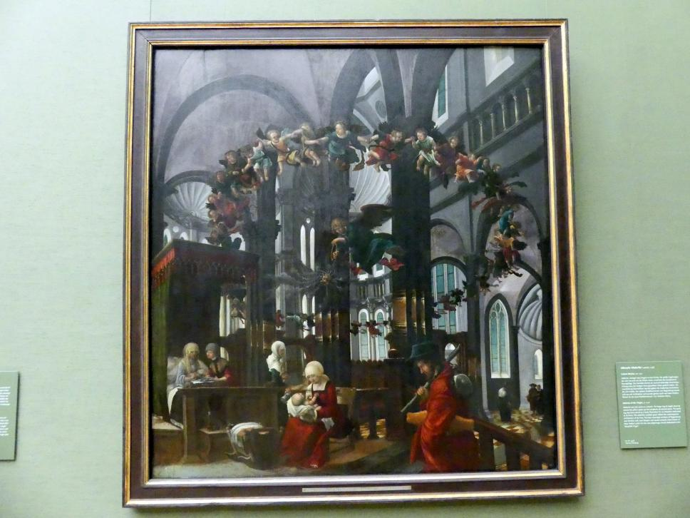 Lucas Cranach der Ältere: Geburt Mariae, Um 1520