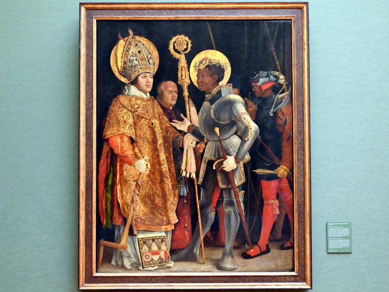 Matthias Grünewald (Mathis Gothart-Nithart): Die hll. Erasmus und Mauritius, Um 1520 - 1524