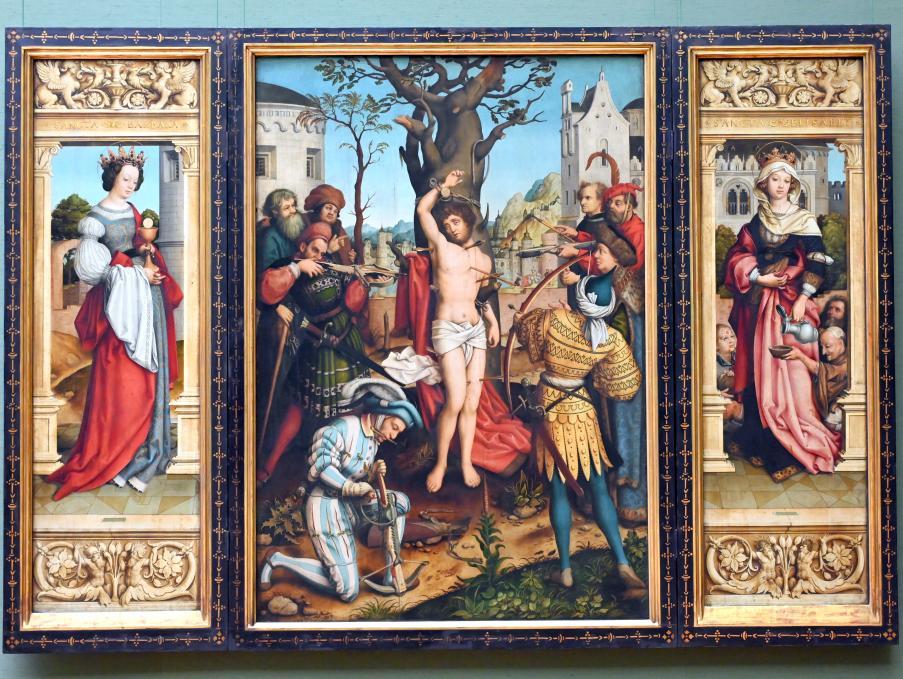 Hans Holbein der Ältere: Sebastiansaltar, 1516