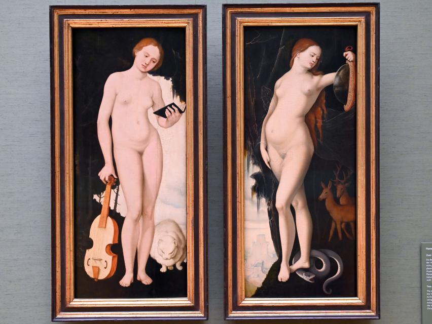 Hans Baldung Grien: Zwei allegorische Gestalten, Um 1529
