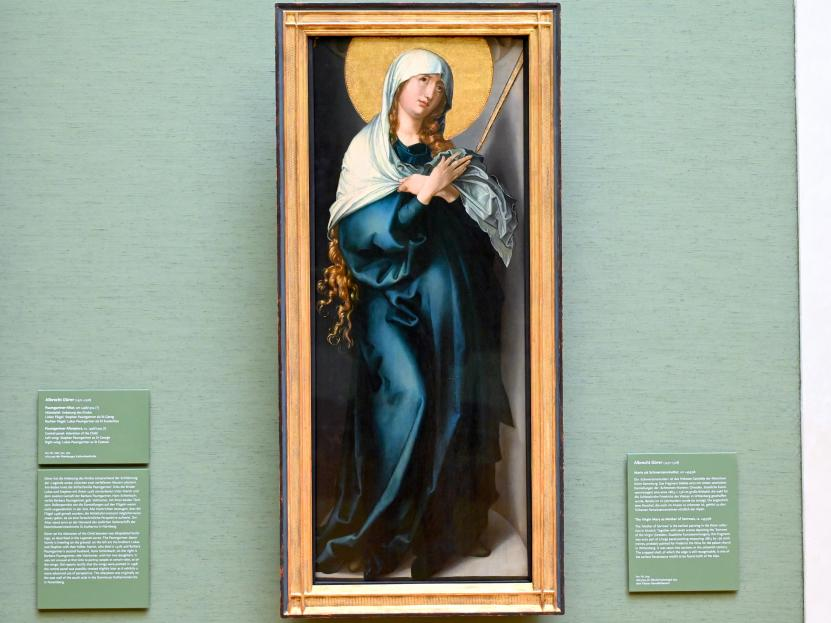 Albrecht Dürer: Maria als Schmerzensmutter, Um 1495 - 1498