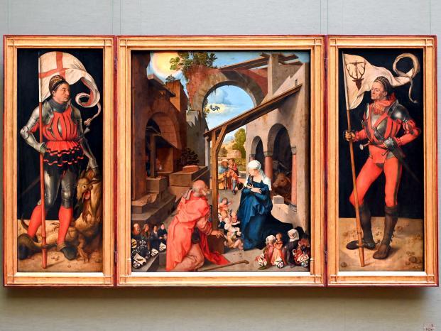 Albrecht Dürer: Paumgartner-Altar, Um 1498 - 1504