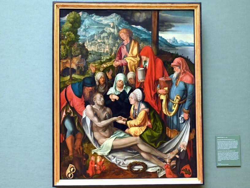 """Albrecht Dürer: Beweinung Christi (""""Glimsche Beweinung""""), Um 1500"""