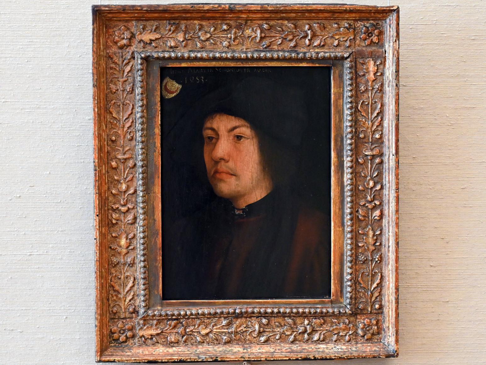 Hans Burgkmair der Ältere: Martin Schongauer (?), um 1511 - 1519