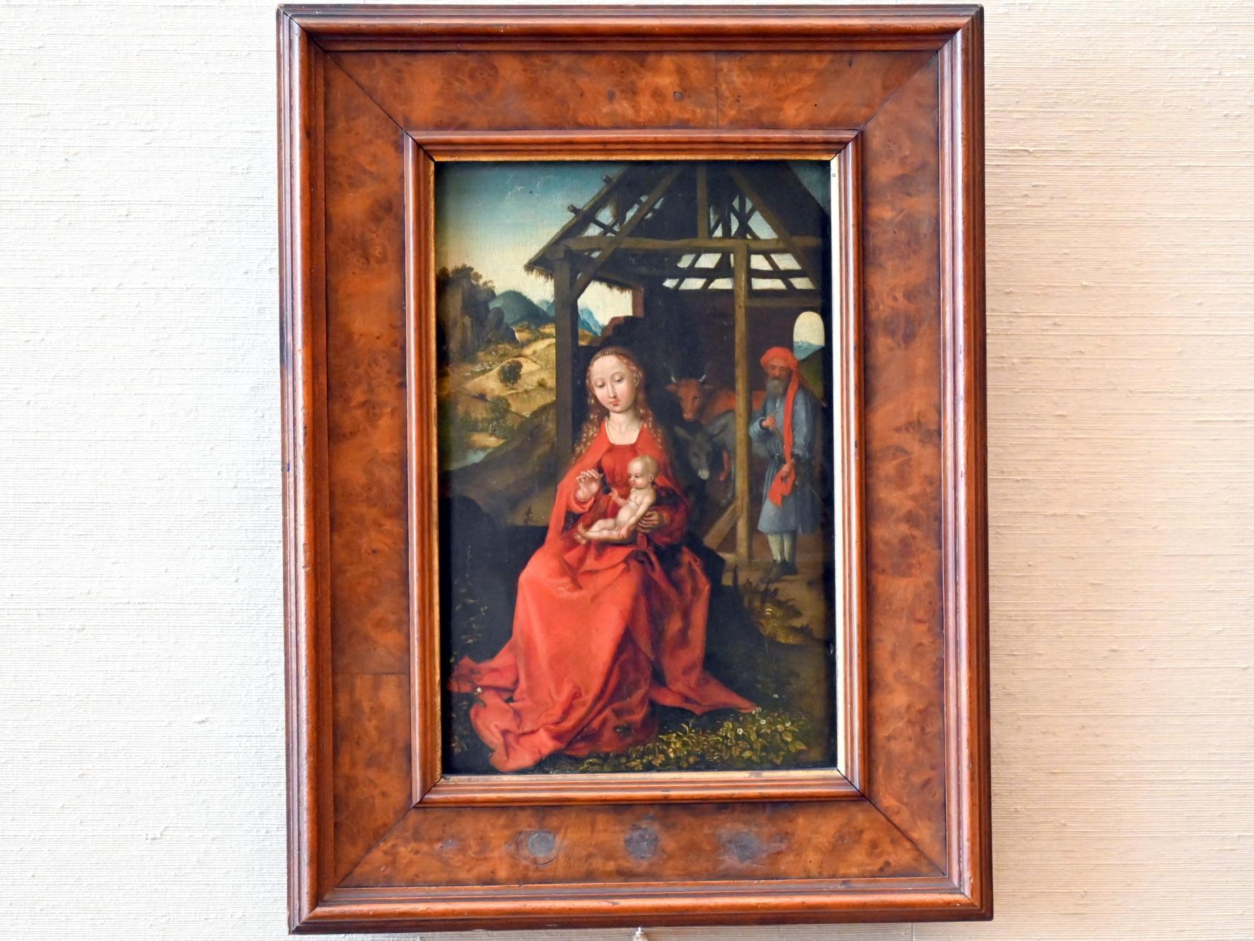 Martin Schongauer: Die Heilige Familie, Um 1475 - 1480
