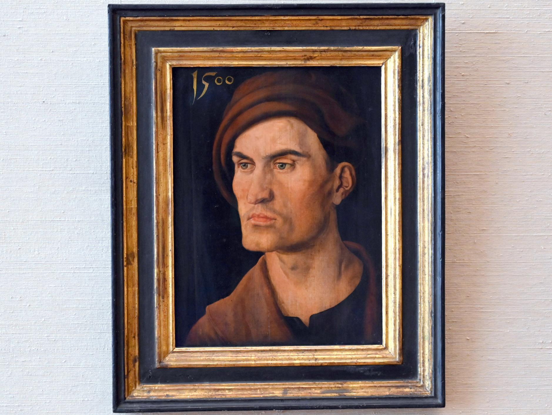 Albrecht Dürer: Bildnis eines jungen Mannes, 1500
