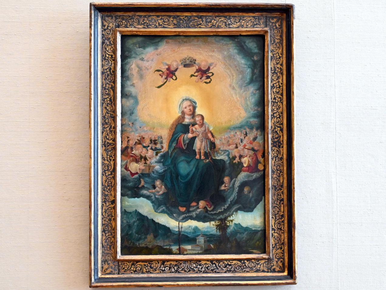 Albrecht Altdorfer: Maria mit dem Kind in der Gloria, um 1525, Bild 1/2