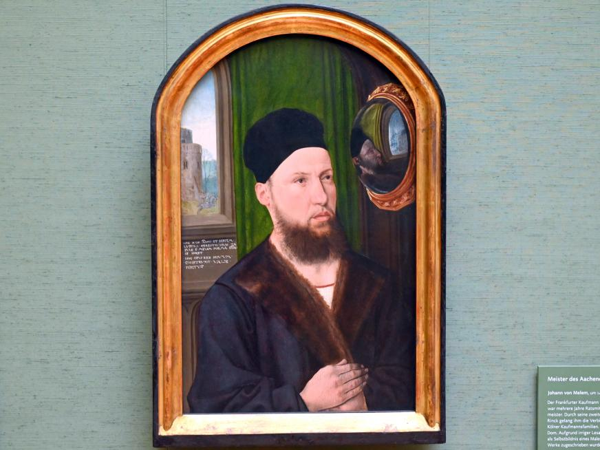Meister des Aachener Altars: Johann von Melem, 1495 - 1500