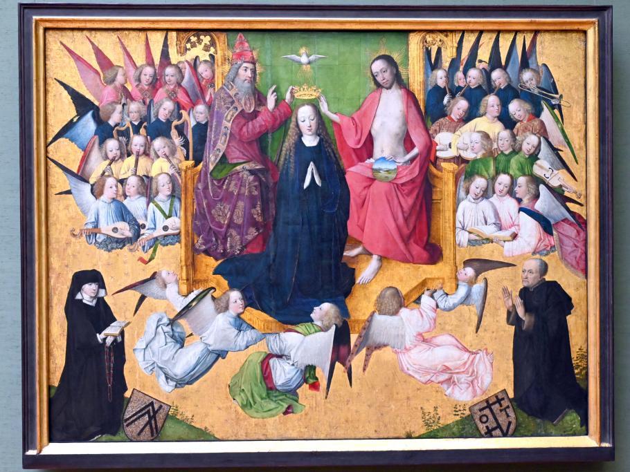 Meister der Lyversberg-Passion: Krönung Mariae, 1465 - 1470