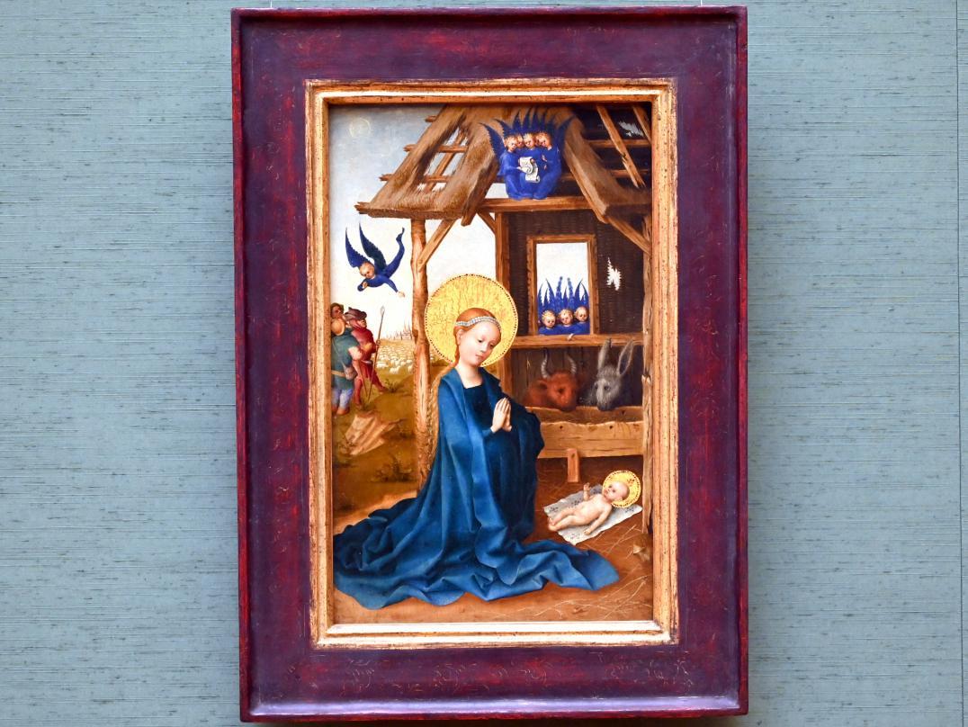 Stefan Lochner (Stephan Lochner): Geburt Christi, 1445