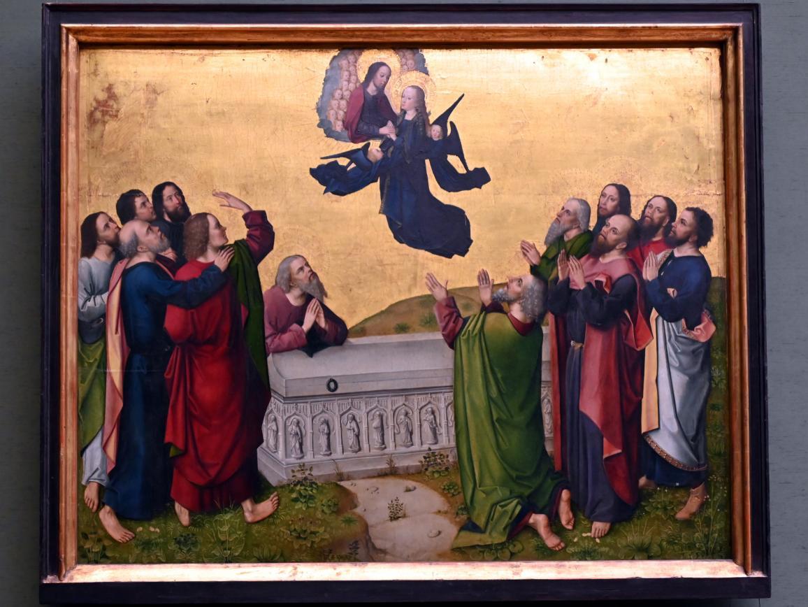 Meister des Marienlebens: Himmelfahrt Mariae, Um 1470 - 1480