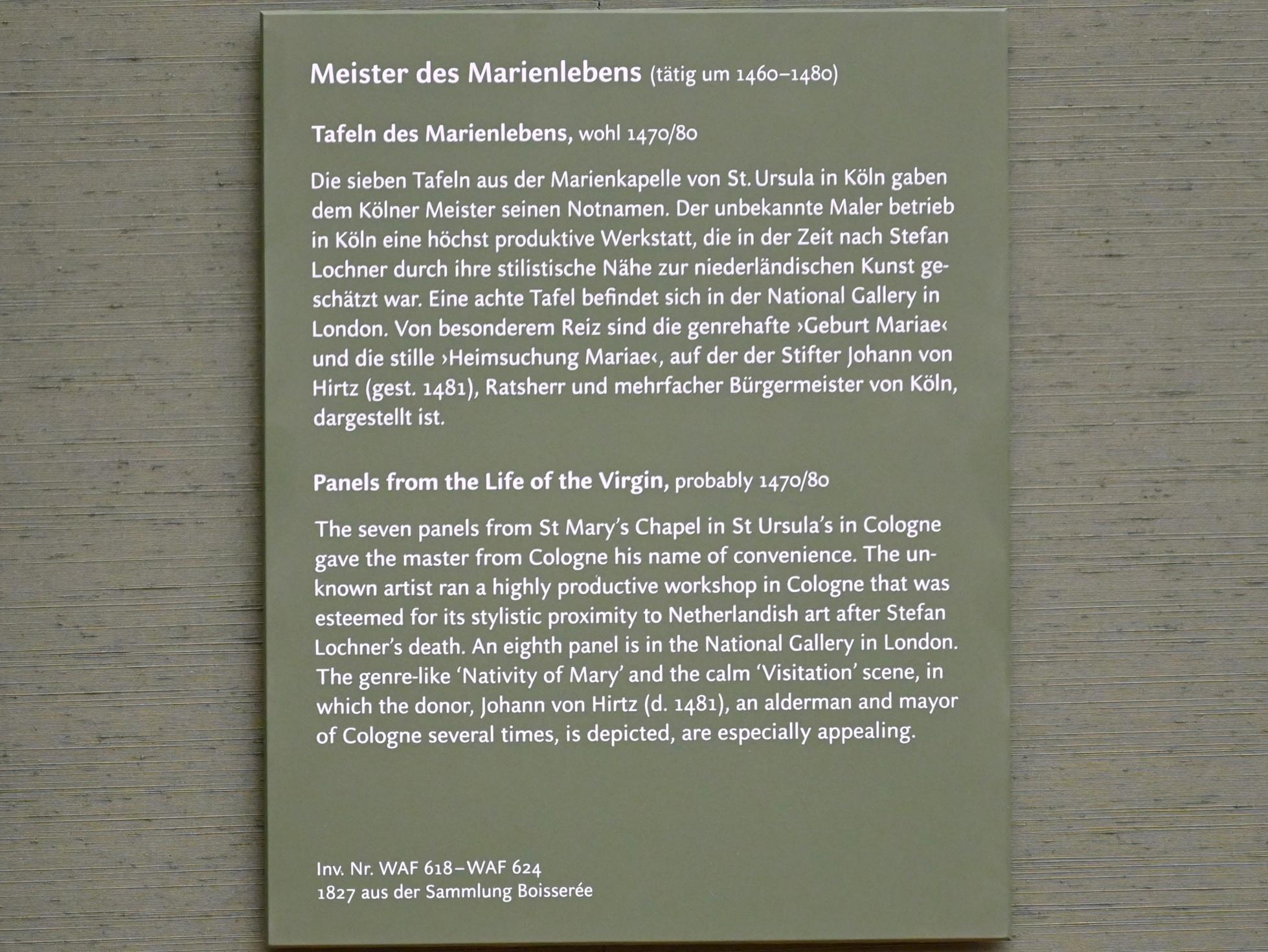 Meister des Marienlebens: Himmelfahrt Mariae, um 1470 - 1480, Bild 3/3