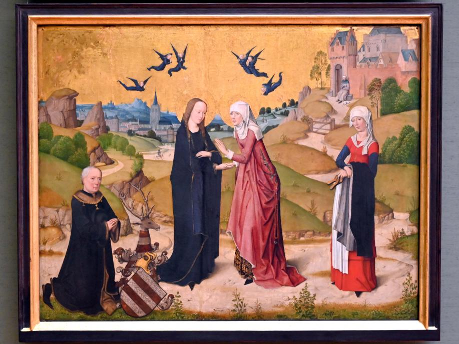 Meister des Marienlebens: Heimsuchung Mariae, um 1470 - 1480