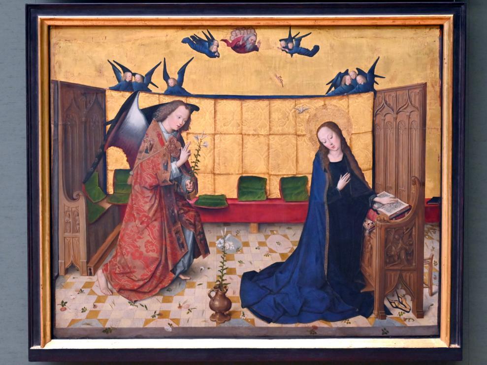 Meister des Marienlebens: Verkündigung an Maria, um 1470 - 1480