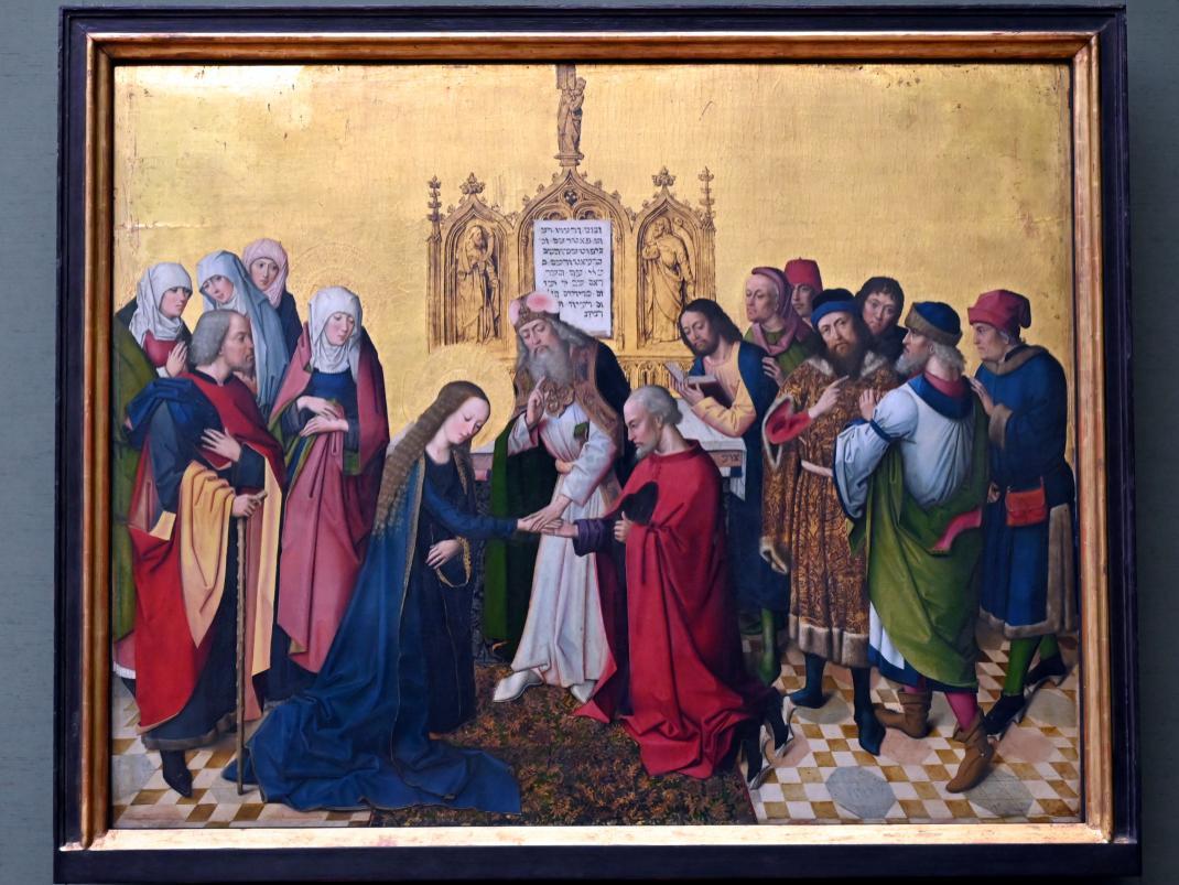Meister des Marienlebens: Vermählung Mariae, Um 1470 - 1480