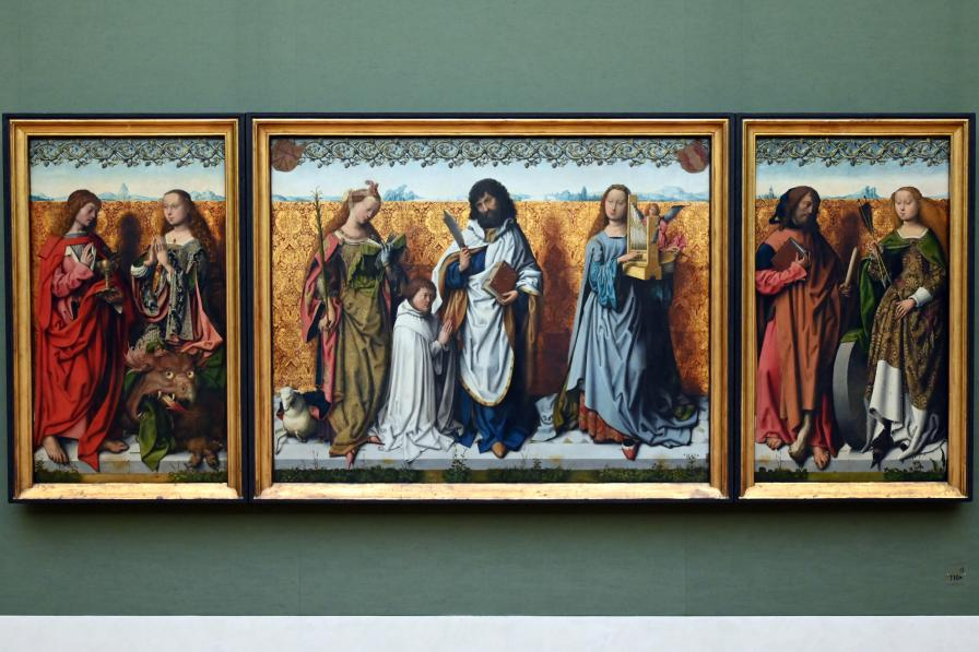 Meister des Bartholomäusaltars: Bartholomäusaltar, Um 1500 - 1510