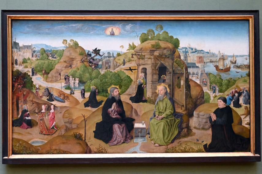 Meister der heiligen Sippe: Legende des hl. Eremiten Antonius, Um 1500 - 1510