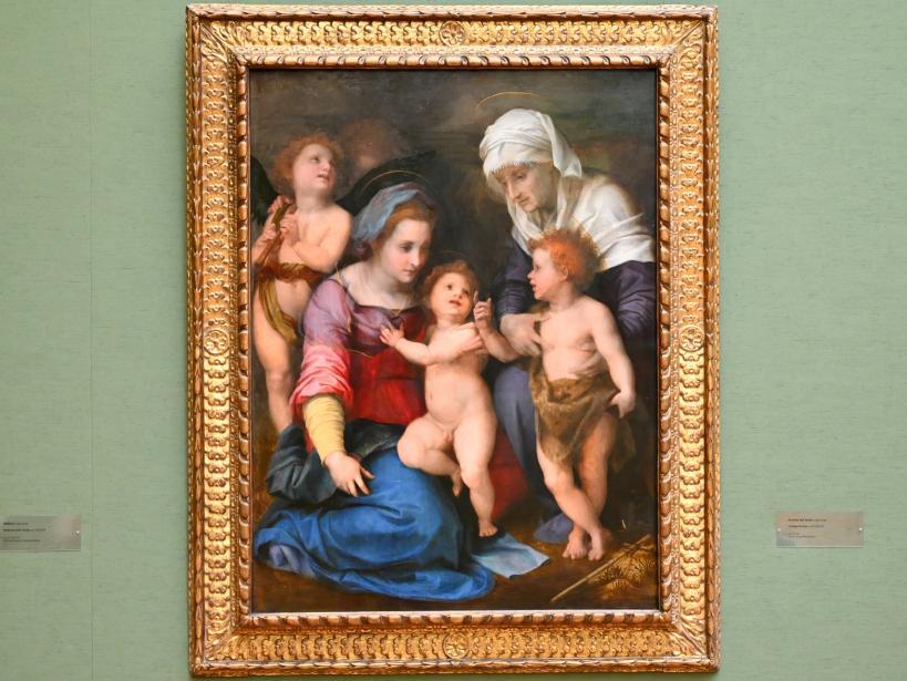 Andrea del Sarto: Heilige Familie, Um 1514 - 1515