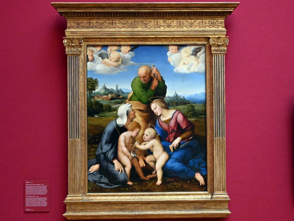 Raffaello Santi (Raffael): Heilige Familie aus dem Hause Canigiani, um 1506 - 1507