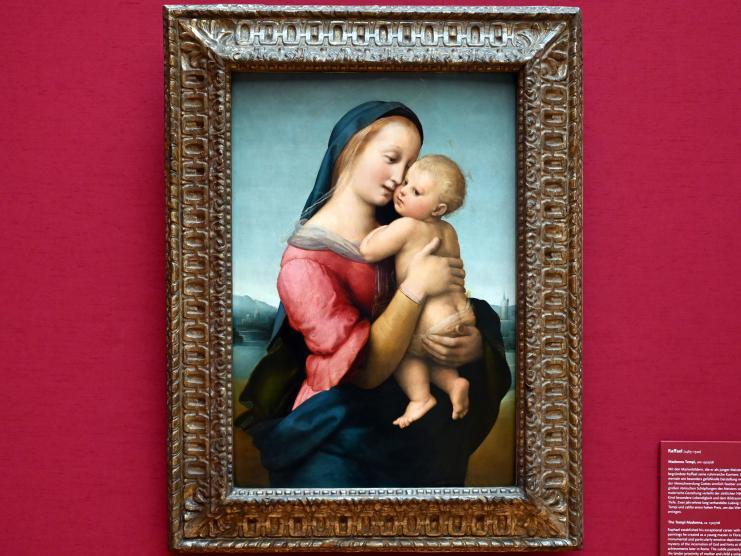 Raffaello Santi (Raffael): Madonna Tempi, um 1507 - 1508