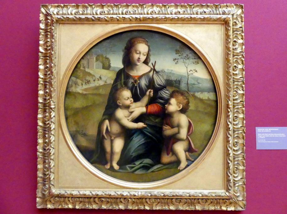 Meister der Beweinung von Scandicci: Maria mit Kind und dem Johannesknaben, um 1510 - 1515
