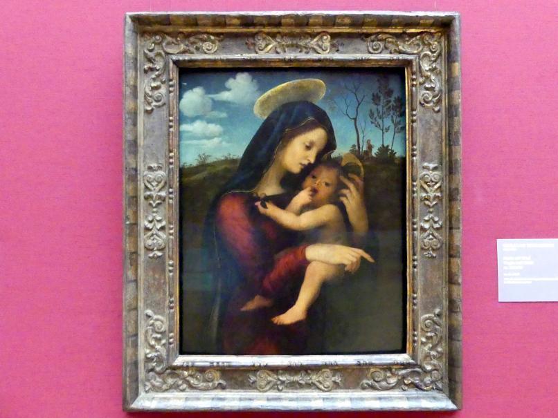 Giuliano Bugiardini: Maria mit Kind, Um 1515 - 1520