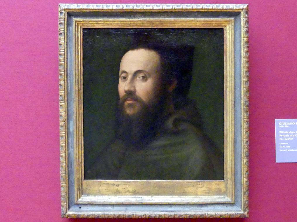 Giuliano Bugiardini: Bildnis eines Geistlichen, 1525 - 1530