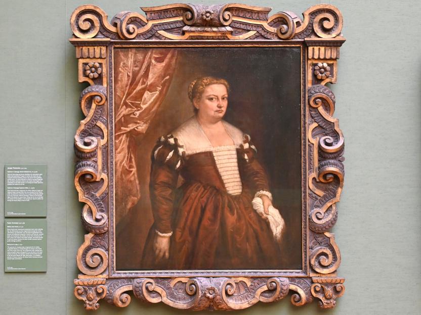 Paolo Caliari (Veronese): Bildnis einer Dame, um 1570