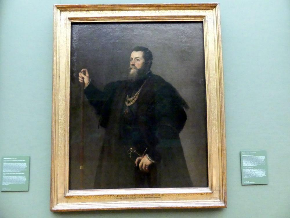 Tiziano Vecellio (Tizian): Bildnis eines Edelmannes, 1542