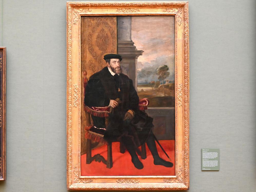 Tiziano Vecellio (Tizian): Kaiser Karl V., 1548