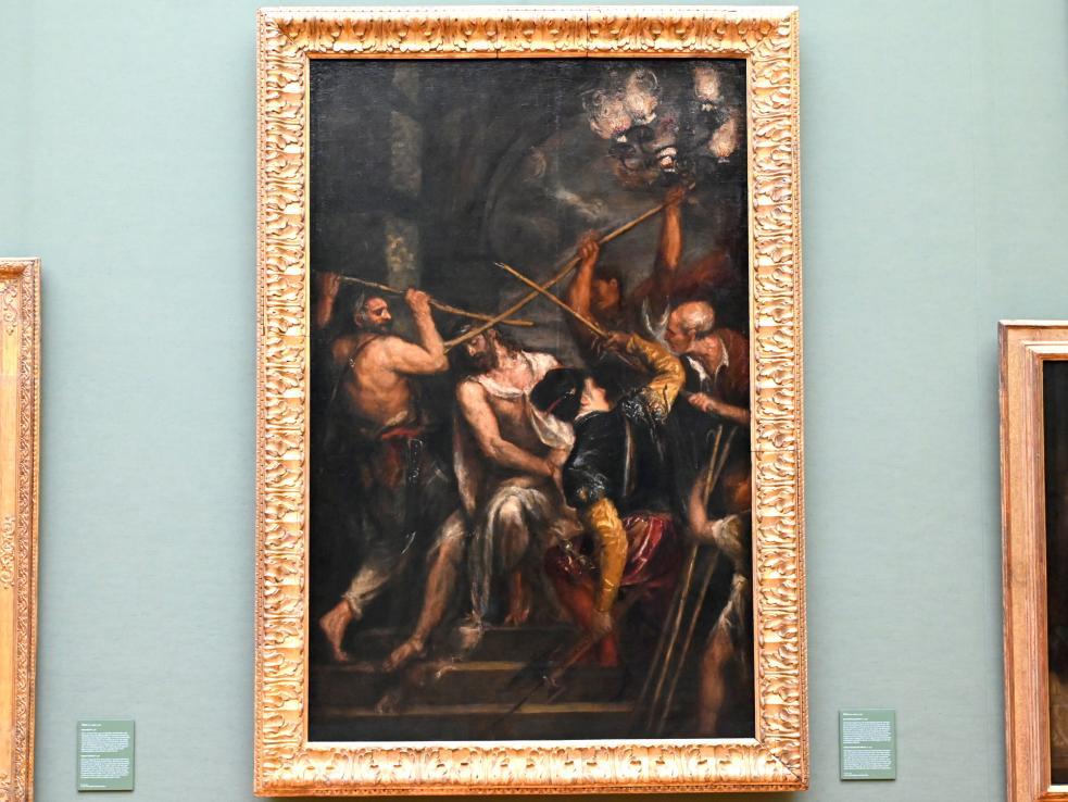 Tiziano Vecellio (Tizian): Dornenkrönung Christi, um 1570