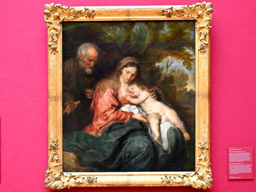 Anthonis (Anton) van Dyck: Ruhe auf der Flucht, 1627 - 1632, Bild 1/2