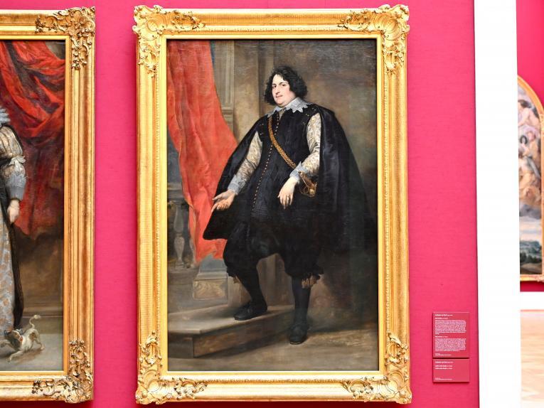 Anthonis (Anton) van Dyck: Bildnis des Filips de Godines, 1627 - 1632